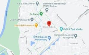 route beschrijving corona test locatie baalder coronatest-hardenberg.nl