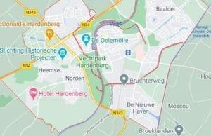 route beschrijving pcr coronatst locatie in hardenberg coronatest-hardenberg.nl